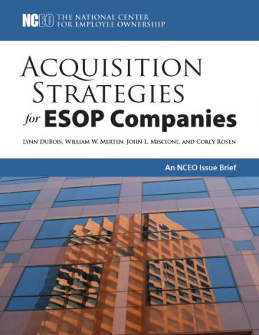 Product image for: Acquisition Strategies for ESOP Companies