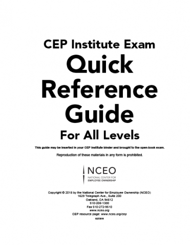 Product image for: CEPI Exam Quick Reference Guide