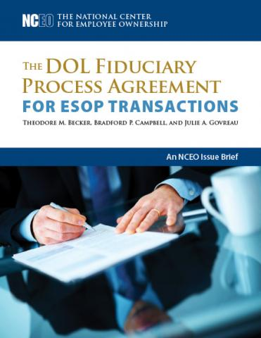 Product image for: The DOL Fiduciary Process Agreement for ESOP Transactions