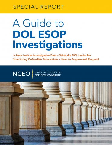 Product image for: A Guide to DOL ESOP Investigations