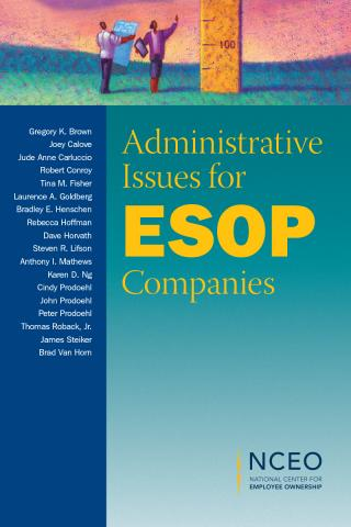 Product image for: Administrative Issues for ESOP Companies
