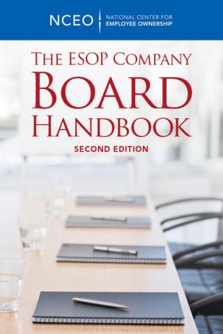 Product image for: The ESOP Company Board Handbook