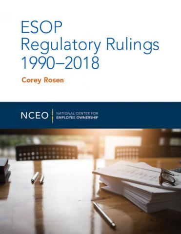 Product image for: ESOP Regulatory Rulings 1990-2018