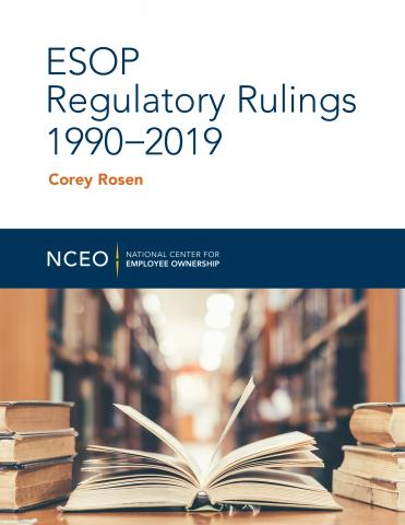 Product image for: ESOP Regulatory Rulings 1990-2019