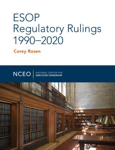 Product image for: ESOP Regulatory Rulings 1990-2020