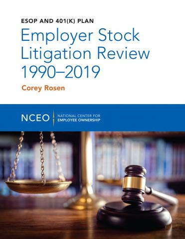 Product image for: ESOP and 401(k) Plan Employer Stock Litigation Review 1990-2019