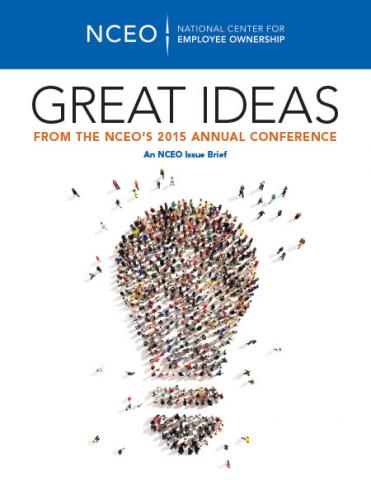 Product image for: Great Ideas from the NCEO's 2015 Annual Conference
