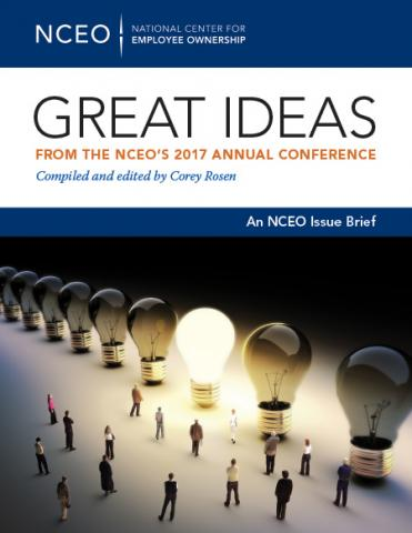 Product image for: Great Ideas from the NCEO's 2017 Annual Conference