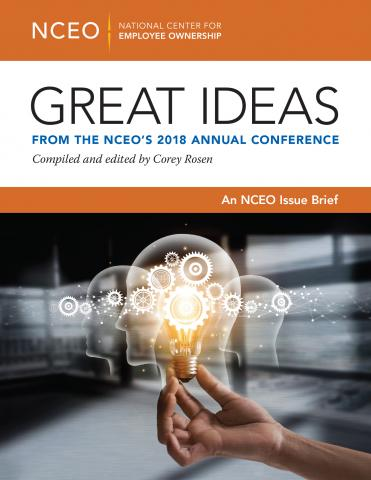 Product image for: Great Ideas from the NCEO's 2018 Annual Conference
