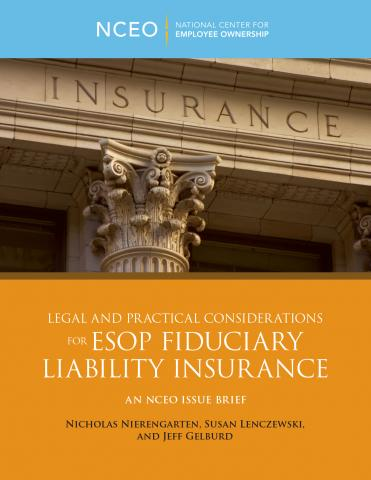 Product image for: Legal and Practical Considerations for ESOP Fiduciary Liability Insurance