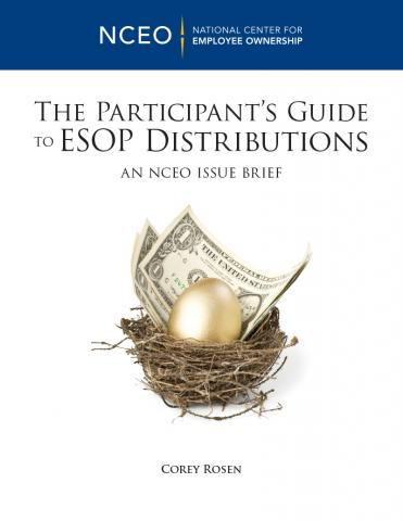 Product image for: The Participant's Guide to ESOP Distributions