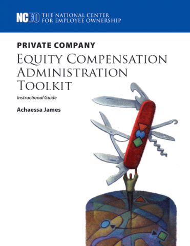 Product image for: Private Company Equity Compensation Administration Toolkit