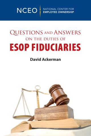Product image for: Questions and Answers on the Duties of ESOP Fiduciaries