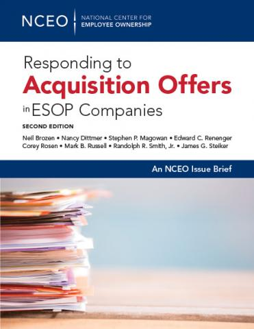 Product image for: Responding to Acquisition Offers in ESOP Companies