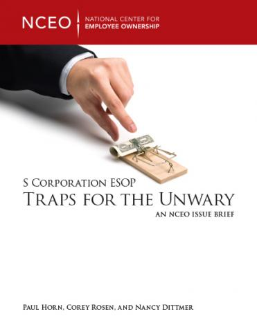 Product image for: S Corporation ESOP Traps for the Unwary