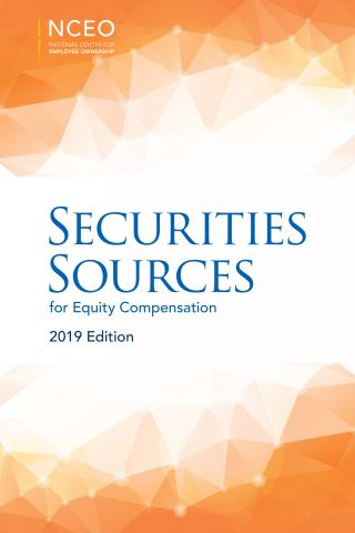 Product image for: Securities Sources for Equity Compensation