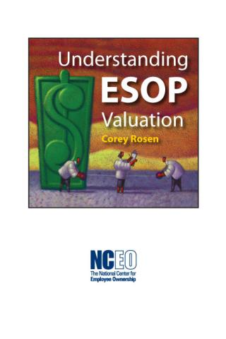Product image for: Understanding ESOP Valuation